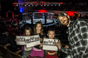 Gregory attended MMA No Mercy Extreme Fighting on Jan 14th 2017 via VetTix