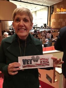 Kim from Mesa attended Carmen, Falla and Granados - Friday on Jan 6th 2017 via VetTix