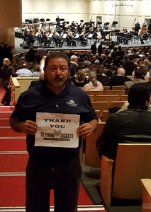 Lorenzo attended Carmen, Falla and Granados - Saturday on Jan 7th 2017 via VetTix