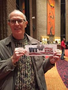 Jeff of Scottsdale attended Bosendorfer Piano Competition on Jan 8th 2017 via VetTix