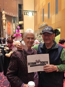 Muriel attended Bosendorfer Piano Competition on Jan 8th 2017 via VetTix