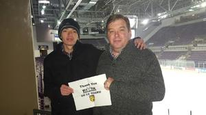 David attended Colorado College Tigers vs. Nebraska Omaha - NCAA Hockey on Jan 14th 2017 via VetTix