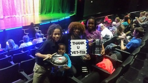Monique attended Recycled Percussion - Friday Show on Feb 3rd 2017 via VetTix