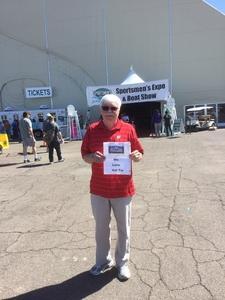 Larry attended Sportsmen's Expo - Scottsdale on Mar 23rd 2017 via VetTix