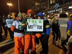 Nathan attended Green Bay Packers vs. New York Giants - NFL Playoffs Wild Card Game on Jan 8th 2017 via VetTix