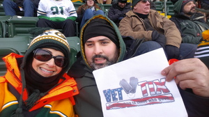 MAYRA attended Green Bay Packers vs. New York Giants - NFL Playoffs Wild Card Game on Jan 8th 2017 via VetTix