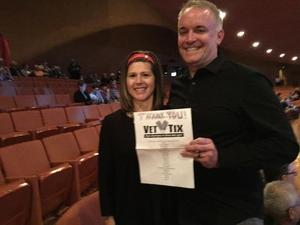 Dan attended The Illusionists - Live From Broadway - Operation Date Night on Jan 18th 2017 via VetTix