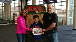 Rodney attended Discover the Dinosaurs - Unleashed on Jan 21st 2017 via VetTix