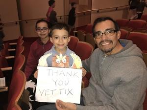 Joseph attended Enchantment Family Concert on Jan 15th 2017 via VetTix
