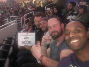 KENDALL attended Phoenix Suns vs. Utah Jazz - NBA on Jan 16th 2017 via VetTix