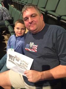 Rick attended Ben Hur Shrine Circus - Presented by the Cedar Park Center on Jan 16th 2017 via VetTix