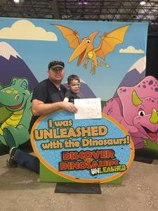 Matthew attended Discover the Dinosaurs - Unleashed on Feb 18th 2017 via VetTix