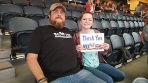 Jay attended PBR Built Ford Tough Series - Iron Cowboys on Feb 18th 2017 via VetTix
