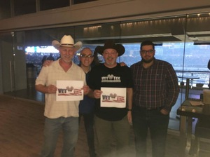 John attended PBR Built Ford Tough Series - Iron Cowboys on Feb 18th 2017 via VetTix