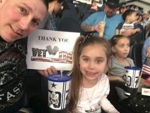 Chevis attended PBR Built Ford Tough Series - Iron Cowboys on Feb 18th 2017 via VetTix