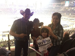 Jose attended PBR Built Ford Tough Series - Iron Cowboys on Feb 18th 2017 via VetTix