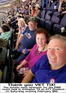 Michael attended PBR Built Ford Tough Series - Iron Cowboys on Feb 18th 2017 via VetTix