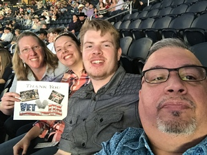 Wes attended PBR Built Ford Tough Series - Iron Cowboys on Feb 18th 2017 via VetTix