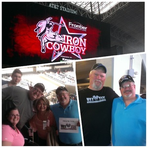 Vincent and Nancy attended PBR Built Ford Tough Series - Iron Cowboys on Feb 18th 2017 via VetTix