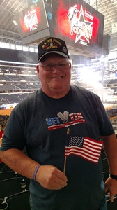 SMSGT Ret Robert attended PBR Built Ford Tough Series - Iron Cowboys on Feb 18th 2017 via VetTix