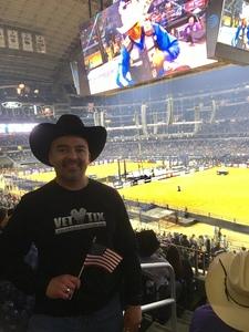 Elias attended PBR Built Ford Tough Series - Iron Cowboys on Feb 18th 2017 via VetTix
