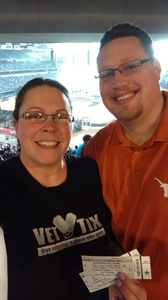 Michelle attended PBR Built Ford Tough Series - Iron Cowboys on Feb 18th 2017 via VetTix