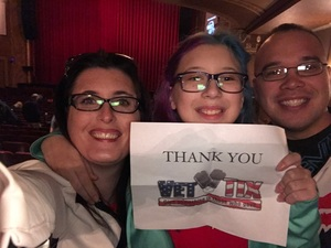 joe attended Moon Mouse: a Space Odyssey - Evening Show on Feb 20th 2017 via VetTix