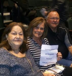 Mark attended The Unavoidable Disappearance of Tom Durnin - Sunday on Mar 19th 2017 via VetTix
