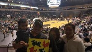 Robert attended Austin Spurs vs. Iowa Energy - NBA D-league Basketball - Military Appreciation Game on Feb 26th 2017 via VetTix