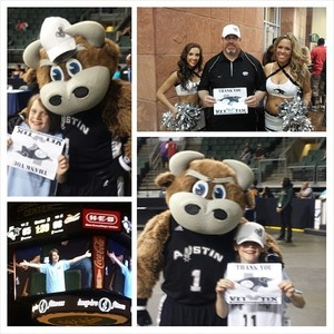 Christopher attended Austin Spurs vs. Iowa Energy - NBA D-league Basketball - Military Appreciation Game on Feb 26th 2017 via VetTix