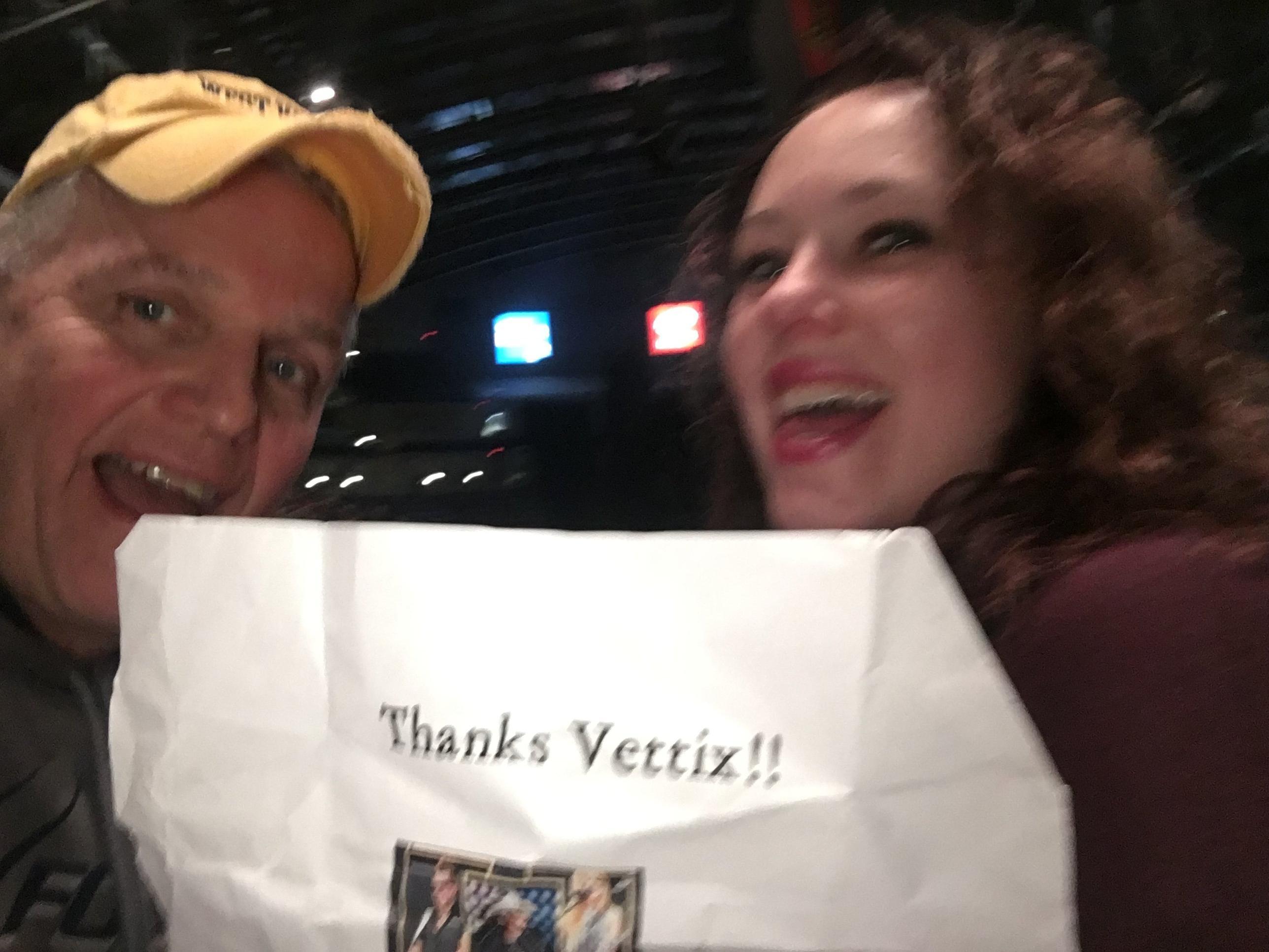Vet Tixer Thank You Messages