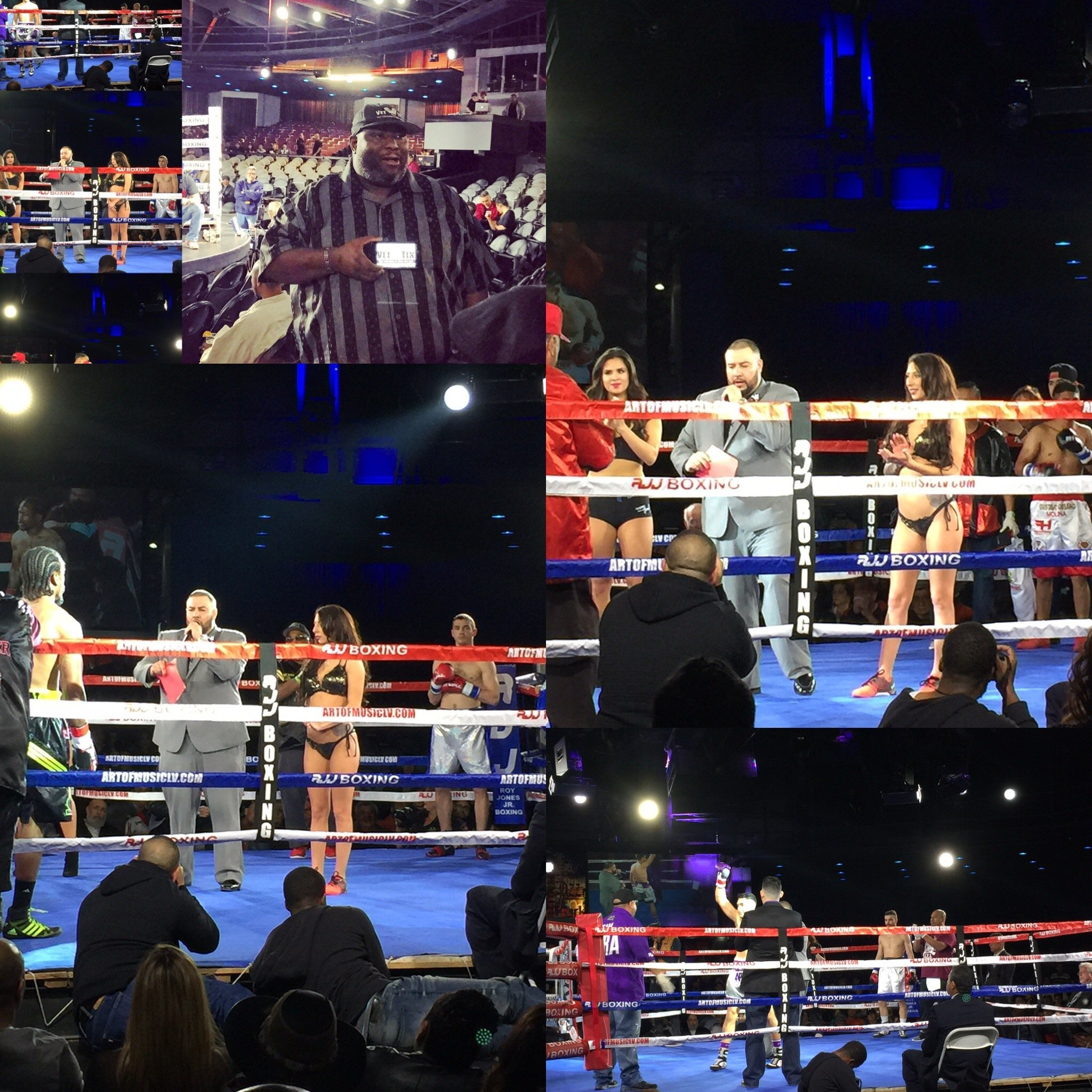 Pro Boxing - Ironboy Promotions - Celebrity Theatre ...