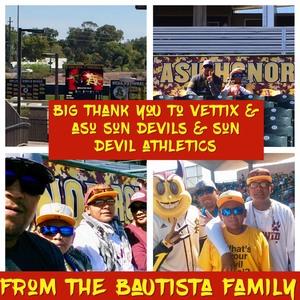 Earl attended Honor Row - Arizona State Sun Devils vs. Oregon State - NCAA Men's Baseball - Saturday on Mar 18th 2017 via VetTix