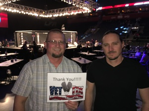 Andrew attended Lfa 5 - Edwards vs. Townsend - Mixed Martial Arts - Presented by Legacy Fighting Alliance on Feb 24th 2017 via VetTix