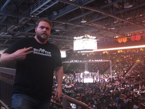 Jacob attended Army vs. Marines - Live Mixed Martial Arts and Boxing - Presented by Sparta Combat League on Apr 22nd 2017 via VetTix