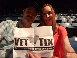 Bradly attended American Made Tour With Justin Moore and Brett Young on Mar 24th 2017 via VetTix