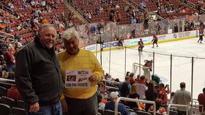 David attended Arizona Coyotes vs. Anaheim Ducks - NHL on Feb 20th 2017 via VetTix