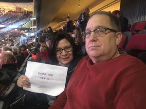 Rosalinda attended Arizona Coyotes vs. Anaheim Ducks - NHL on Feb 20th 2017 via VetTix