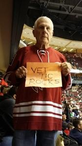 gary attended Arizona Coyotes vs. Anaheim Ducks - NHL on Feb 20th 2017 via VetTix