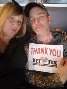 Chris attended PBR Professional Bull Riders on Mar 5th 2017 via VetTix