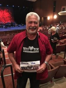 Mike attended War - Live in Concert on Feb 18th 2017 via VetTix
