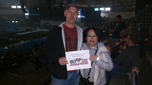 Cory attended Blake Shelton - Doing It to Country Songs Tour - Tacoma Dome on Feb 25th 2017 via VetTix