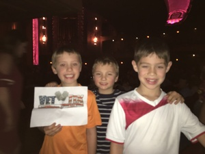 The Paquette Family attended Wild Kratts Live - 2: 00 Pm Show on Feb 20th 2017 via VetTix