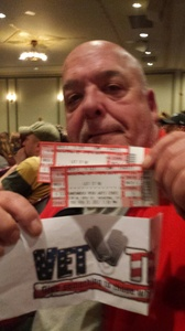 Stephen attended Let It Be - a Celebration of the Music of the Beatles on Feb 21st 2017 via VetTix