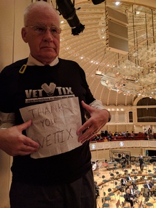 Walter Ronald attended Salonen Conducts the Rite of Spring - Presented by the Chicago Symphony Orchestra on Mar 4th 2017 via VetTix
