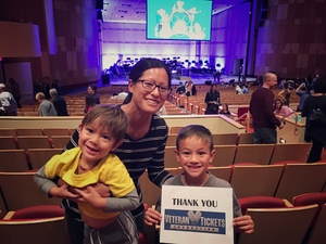 Andra Cochran attended Disney in Concert - Saturday on Feb 25th 2017 via VetTix