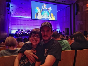 Jeffrey attended Disney in Concert - Saturday on Feb 25th 2017 via VetTix