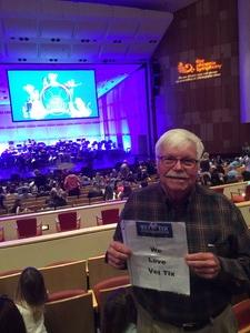 Larry attended Disney in Concert - Saturday on Feb 25th 2017 via VetTix