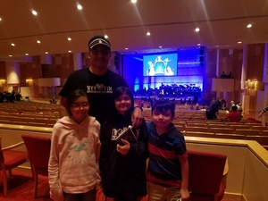 Dino attended Disney in Concert - Saturday on Feb 25th 2017 via VetTix