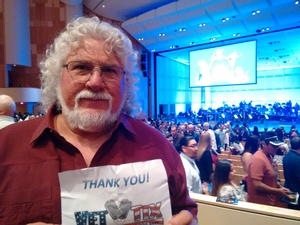 David attended Disney in Concert - Saturday on Feb 25th 2017 via VetTix